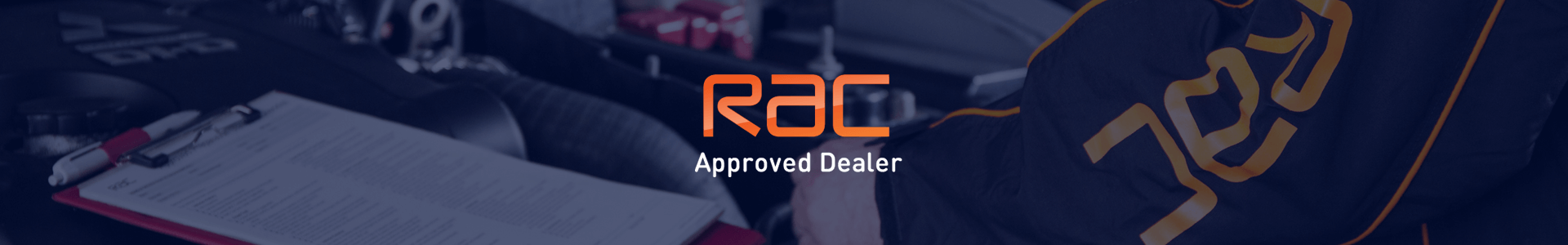 Banner RAC-approved-dealer